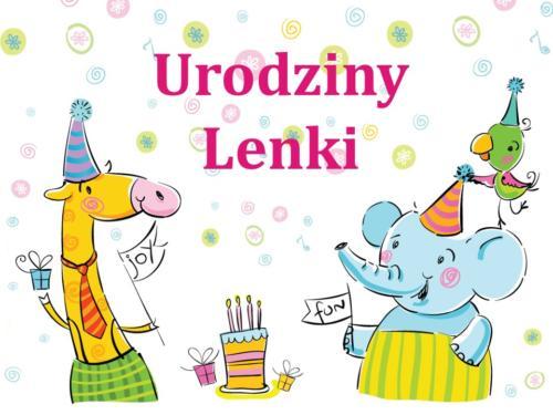 Urodziny - Lenka