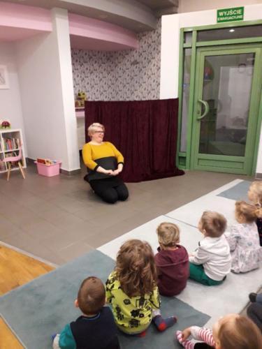Spotkanie z P. Teatrzyk - Biblioteka Miejska