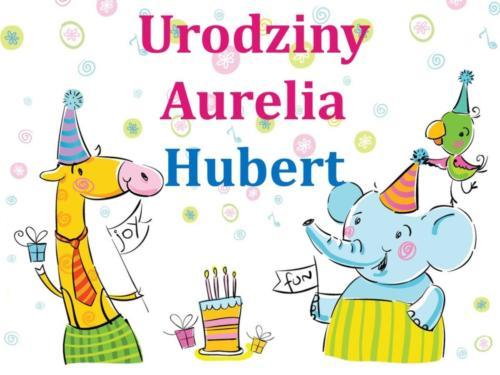 Urodziny - Aurelia i Hubert