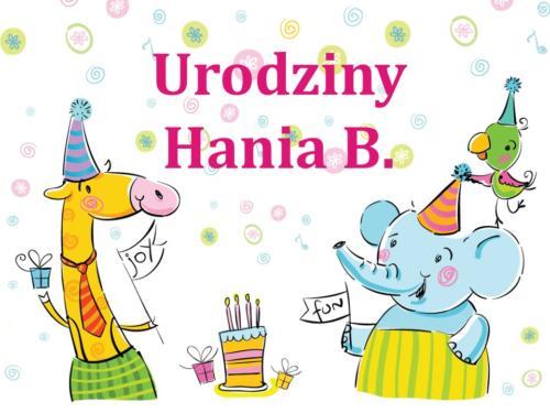 Urodziny - Hania B.